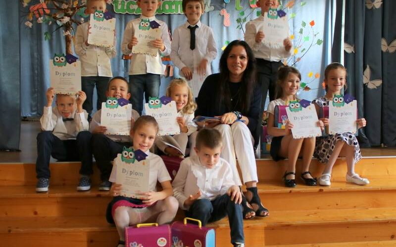 Ślubowanie pierwszaków w Naszej Szkole