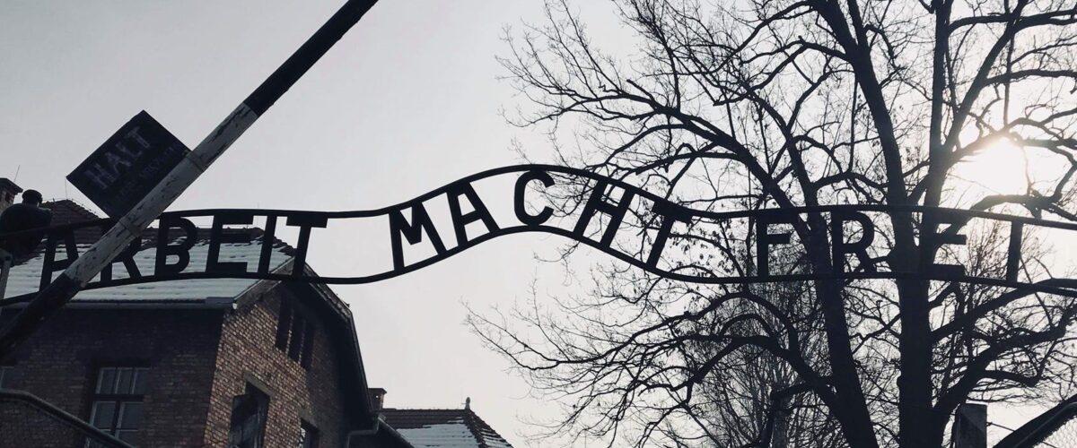 Lekcja muzealna w Auschwitz - Birkenau Szkoły Podstawowej Nr 24
