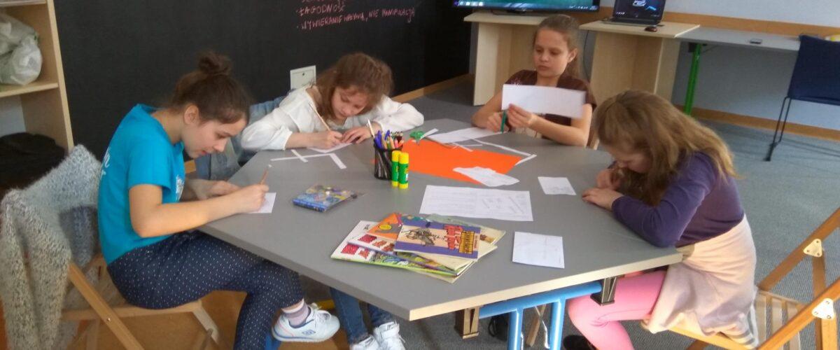 Warsztaty z komiksem uczniów Szkoły Podstawowej Nr 24