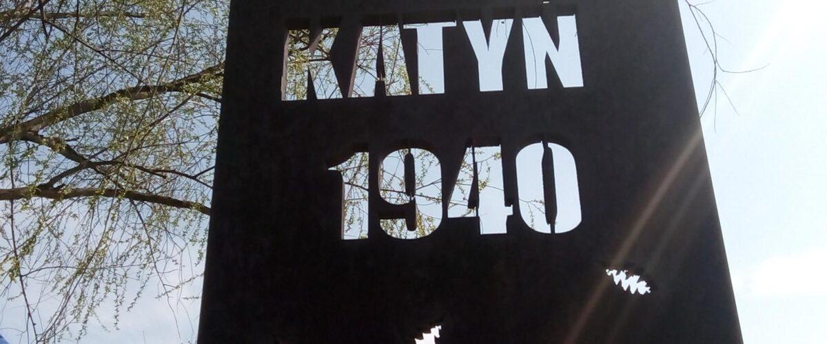 78 rocznica zbrodni katyńskiej w Alei Dębów Katyńskich