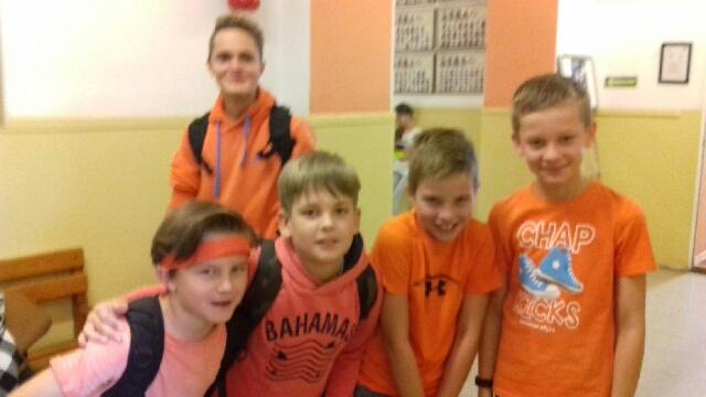 Pomarańczowy Dzień Zdrowia w SP Nr 24
