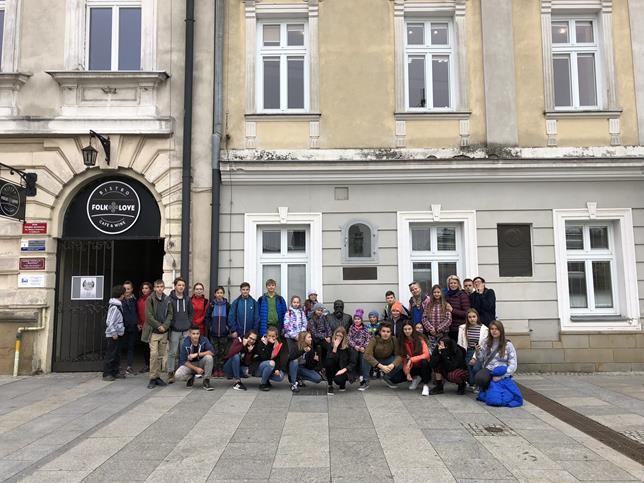 Uczniowie SP Nr 24 w  Gorlicach