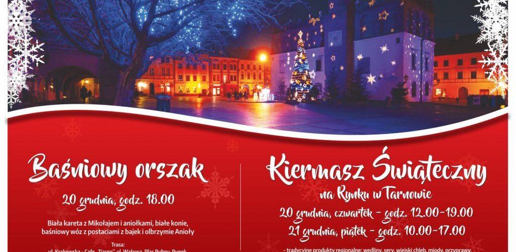 """SP Nr 24 na """"Kiermaszu Świątecznym"""" na tarnowskim rynku"""
