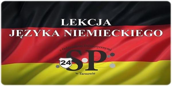 Język niemiecki w klasie 1C