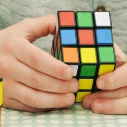 Szkolny Konkurs Układania Kostki Rubika w SP24