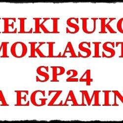 Wielki sukces ósmoklasistów SP24 na egzaminie